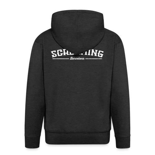 SCREAMING - Chaqueta con capucha premium hombre