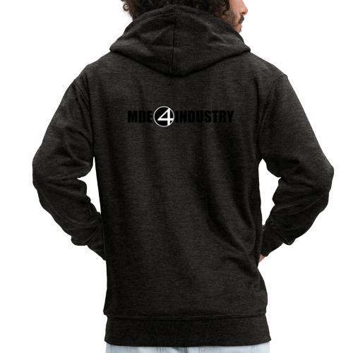 mde - Männer Premium Kapuzenjacke