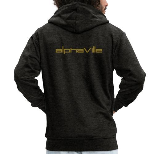Alphaville © Official: Logo (adjustable color) - Männer Premium Kapuzenjacke