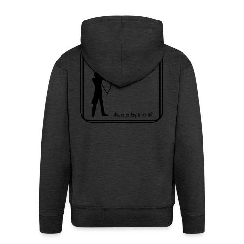 Archery tonight - Miesten premium vetoketjullinen huppari