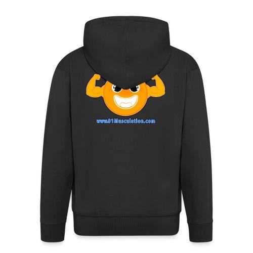Logo 01Musculation Home Fitness Kettlebell - Veste à capuche Premium Homme
