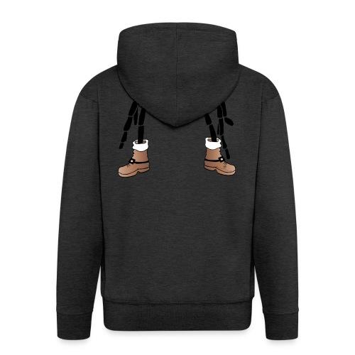 Christmas- Spider - Männer Premium Kapuzenjacke