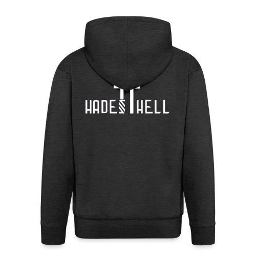 Hadeshell-white - Männer Premium Kapuzenjacke