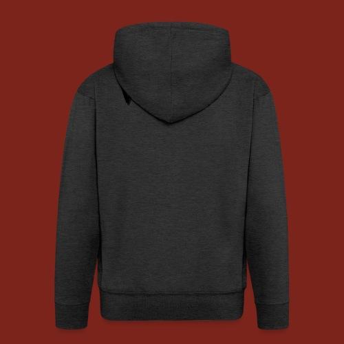 Wolf Font png - Mannenjack Premium met capuchon