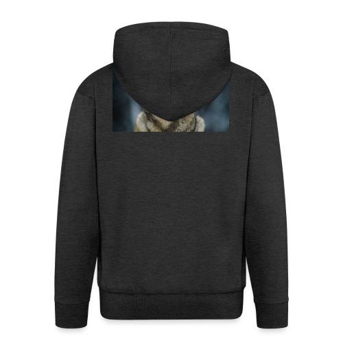 wolf shirt kids - Mannenjack Premium met capuchon