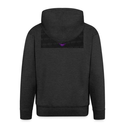 Team EasyFive muki - Miesten premium vetoketjullinen huppari