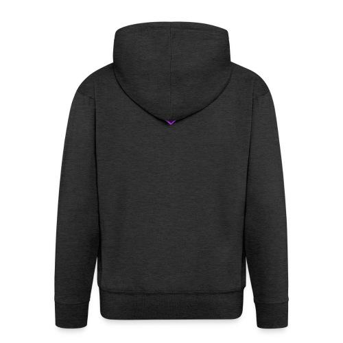 Team EasyFive snäpäri - Miesten premium vetoketjullinen huppari