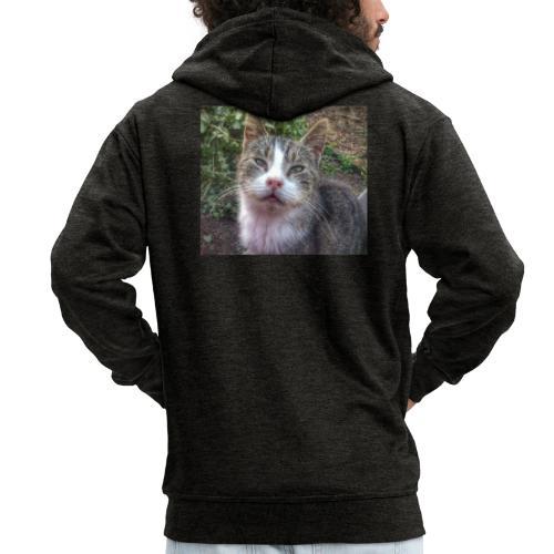 Katze Max - Männer Premium Kapuzenjacke