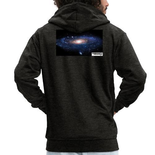 Galaxy Astronomy Ireland - Men's Premium Hooded Jacket