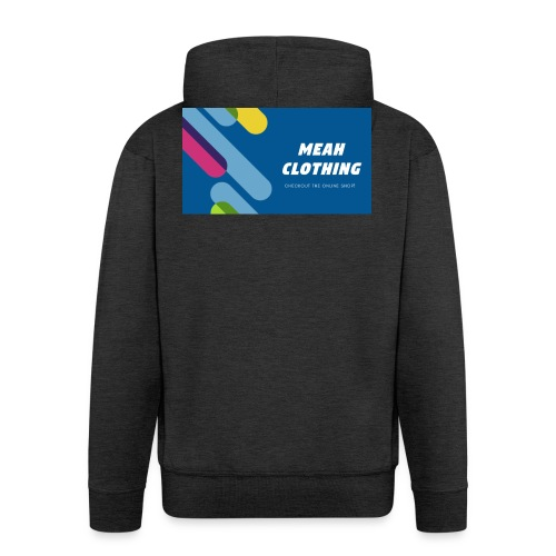 MEAH CLOTHING LOGO - Men's Premium Hooded Jacket