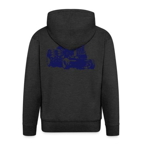 1486 - Men's Premium Hooded Jacket