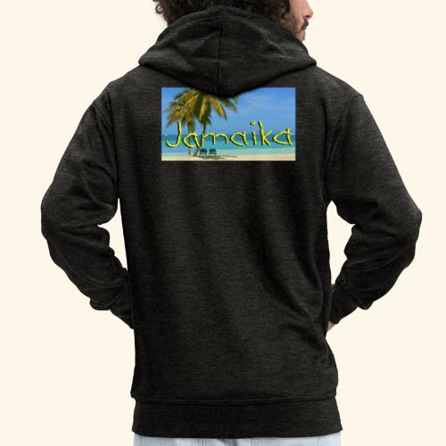 JAMAIKA - Männer Premium Kapuzenjacke