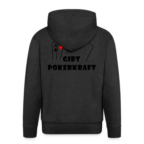 Apfelsaft gibt Pokerkraft - Männer Premium Kapuzenjacke