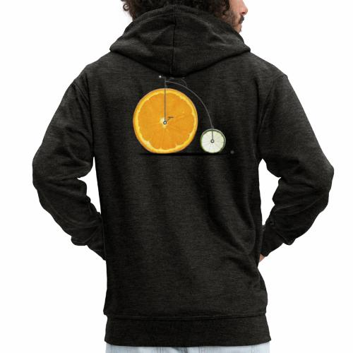 Fruit Bicycle - Men's Premium Hooded Jacket