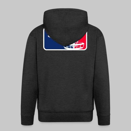 Major League Frisbeegolf - Miesten premium vetoketjullinen huppari