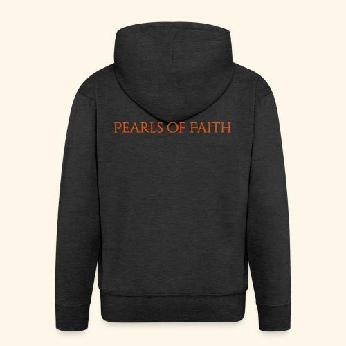 Pearls of Faith - Männer Premium Kapuzenjacke