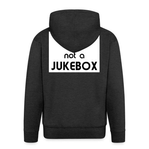 dj_jukebox - Premium Hettejakke for menn