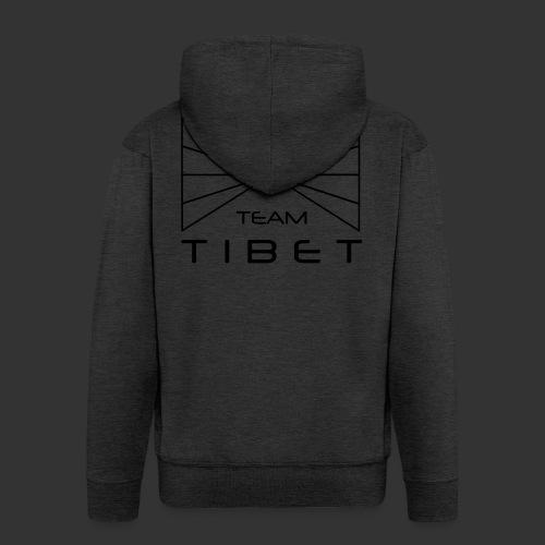 Team Tibet - Männer Premium Kapuzenjacke