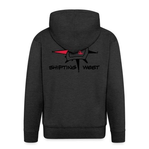 Shifting West Logo vector - Mannenjack Premium met capuchon