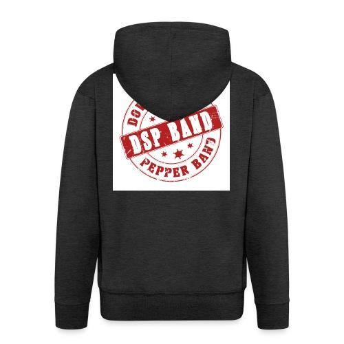 DSP band logo - Men's Premium Hooded Jacket