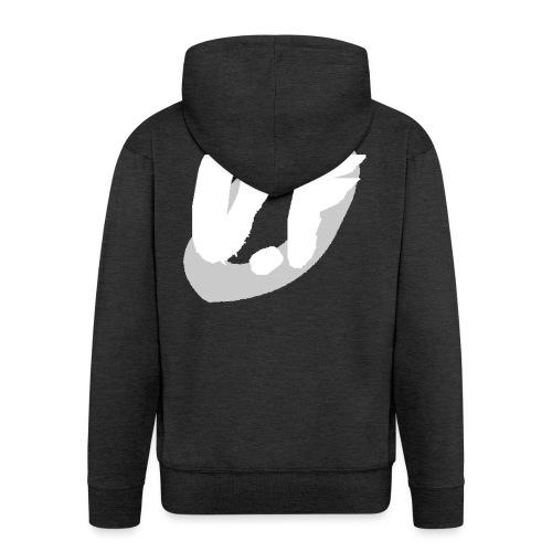 camiseta pico logo UF blanco - Chaqueta con capucha premium hombre