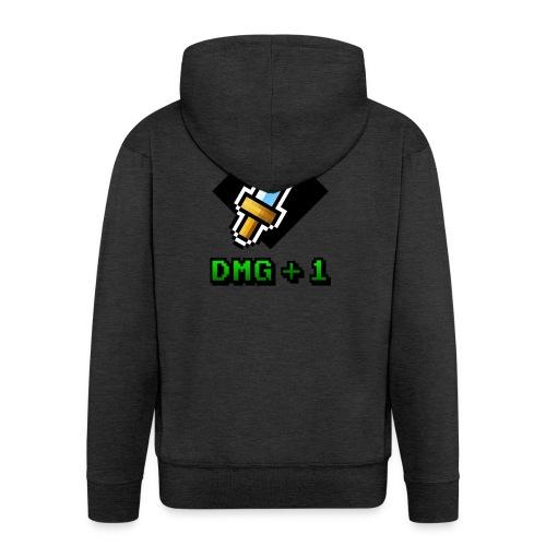 DMG+1 - Felpa con zip Premium da uomo
