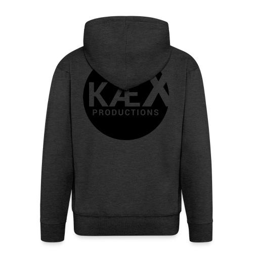 Kæx Hvit Hettegenser - Premium Hettejakke for menn