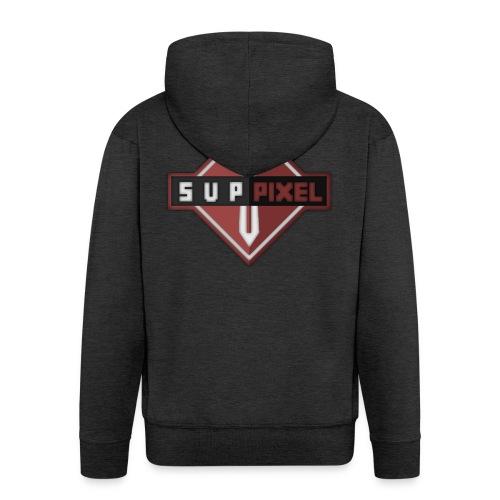 SupPixel Shirt - Men's Premium Hooded Jacket