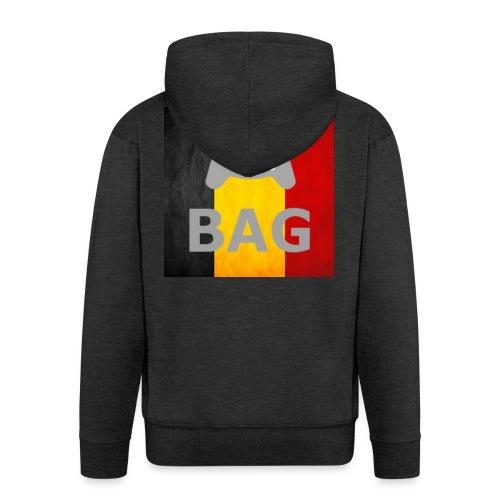 BelgiumAlpha Games - Men's Premium Hooded Jacket