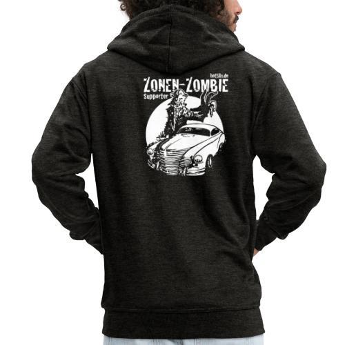 Zonen Zombie Supporter Shirt - Männer Premium Kapuzenjacke