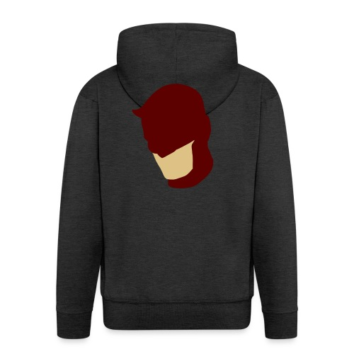 Daredevil Simplistic - Men's Premium Hooded Jacket