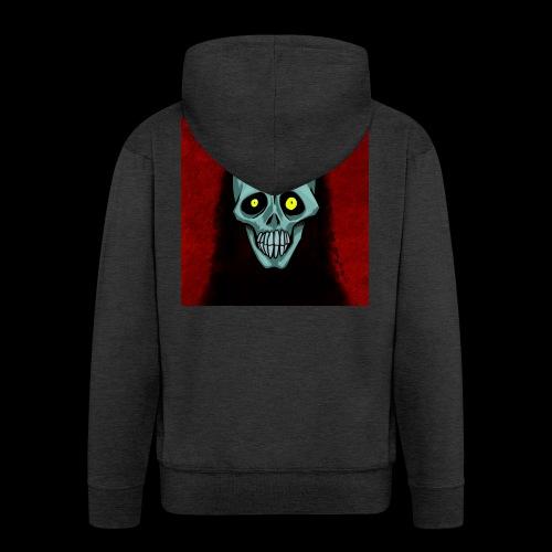 Ghost skull - Men's Premium Hooded Jacket