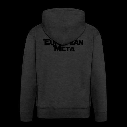 TEM Black - Men's Premium Hooded Jacket