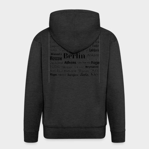 European capitals - Men's Premium Hooded Jacket