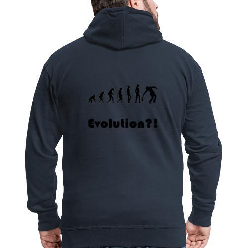 Evolutionstheorie Betrunkener - Männer Premium Kapuzenjacke