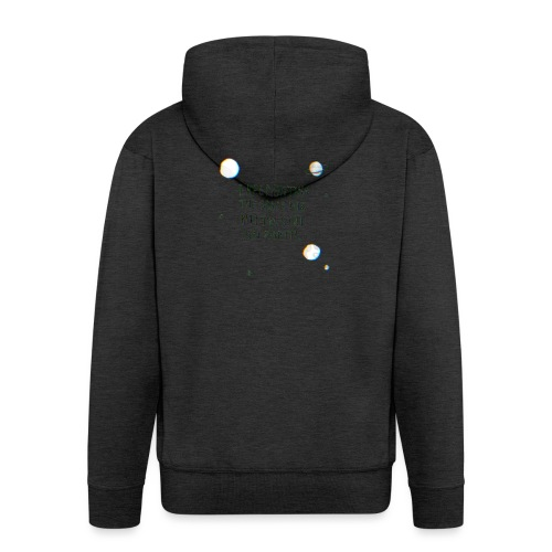 The Space Bar - Men's Premium Hooded Jacket