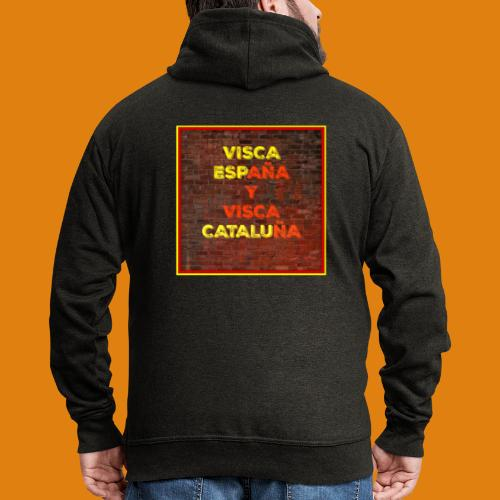SPAIN AND CATALONIA - Men's Premium Hooded Jacket