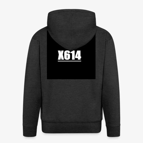 X614 logo - Premium Hettejakke for menn