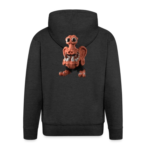 Very positive monster - Men's Premium Hooded Jacket