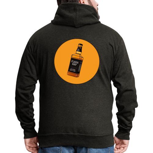 Logo Flash Rap - Veste à capuche Premium Homme