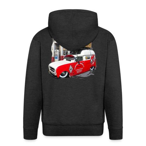 R4 4L F4 vehicules-anciens.fr - Veste à capuche Premium Homme