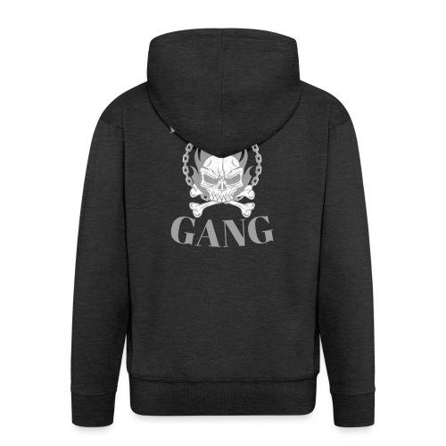 bronx gang flamme tête de mort - Veste à capuche Premium Homme