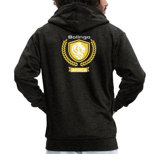 bolingo jaune - Veste à capuche Premium Homme