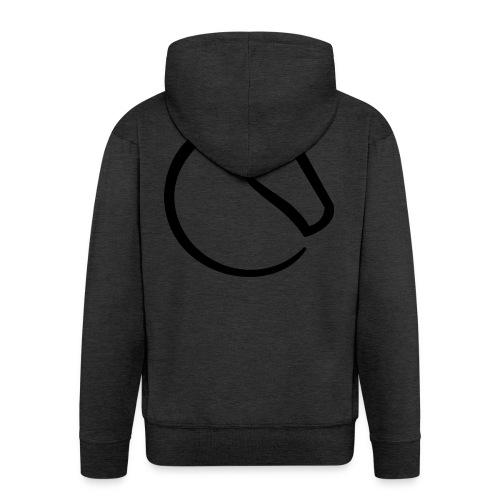 lichess logo - Men's Premium Hooded Jacket