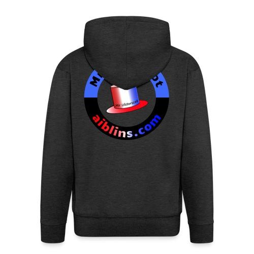 MrUlsterscot, Aiblins.com Logo - Men's Premium Hooded Jacket