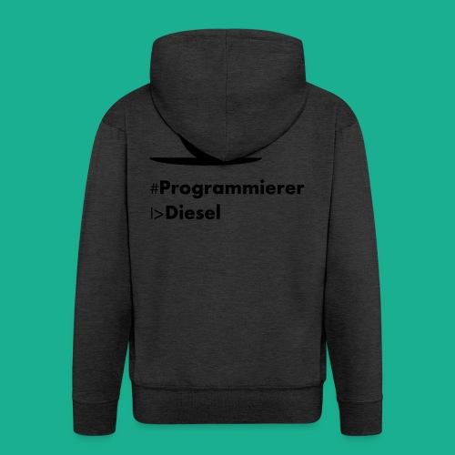 Kaffediesel - Männer Premium Kapuzenjacke