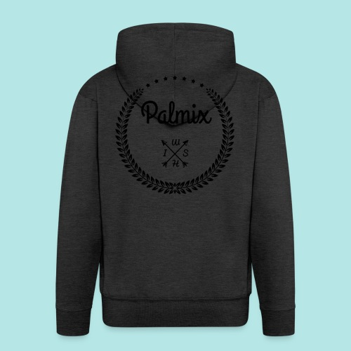Palmix_wish camiseta mangas color - Men's Premium Hooded Jacket