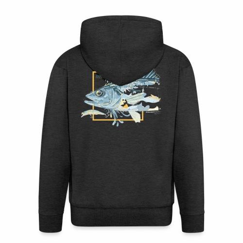 Bass 'n' Splash - Men's Premium Hooded Jacket