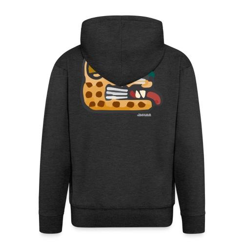 Aztec Icon Jaguar - Men's Premium Hooded Jacket