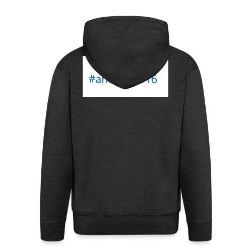 #ancona2016 - Chaqueta con capucha premium hombre